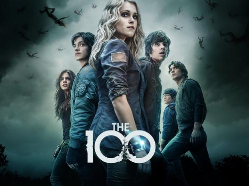 100 (Сотня) сериал Обои titled The 100 Cast Promos