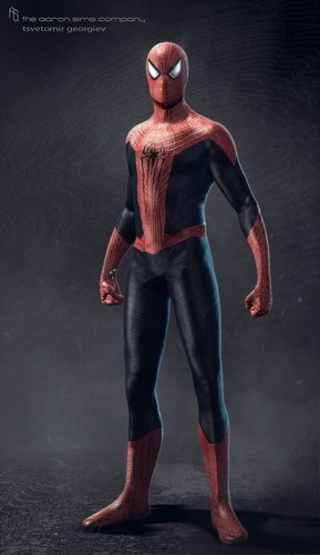 Spider-Man wallpaper possibly with a legging, a hip boot, and tights called The Amazing Spider-Man 2 Concept Arts