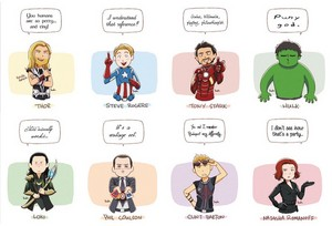 The Avengers Funny frases
