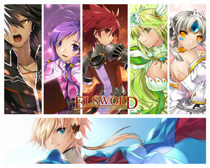The Elsword gang