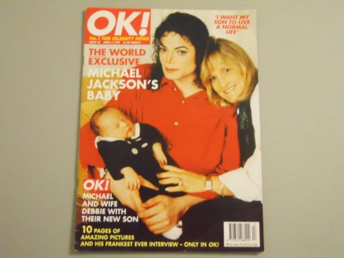 "The Jackson Family On The Cover Of The 1997 Issue Of ""OK!"" Magazine"