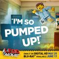 The LEGO Movie - 'I'M SO PUMPED UP!'