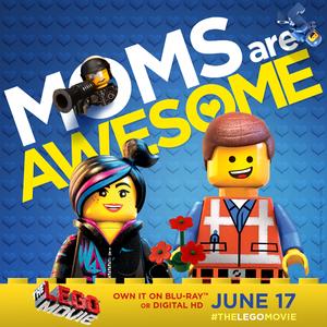 The Lego Movie Happy Mom's ngày