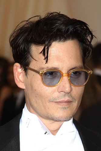 Johnny Depp wallpaper containing a business suit and a suit titled The MET Gala 2014