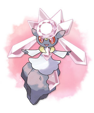 The Mythical pokémon Diancie