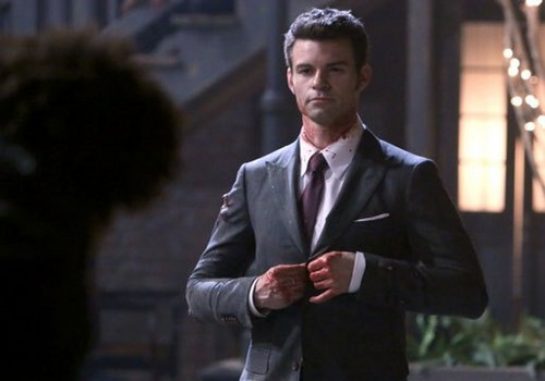 """Teen テレビ shows 壁紙 containing a business suit, a suit, and a two piece called The Originals, """"The Battle of New Orleans"""""""