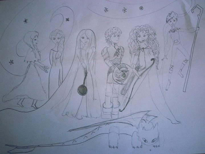 The Super Six Drawing