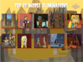 The Worst Eliminations in Total Drama History - total-drama-island fan art
