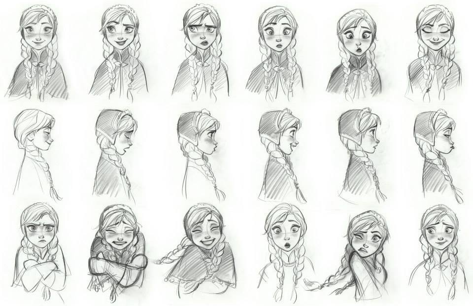 The many faces of Anna