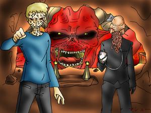 Thee Satan Pit Art