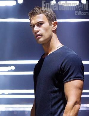 """Theo James as Tobias """"four"""" Eaton"""