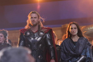 Thor The Dark World On Set