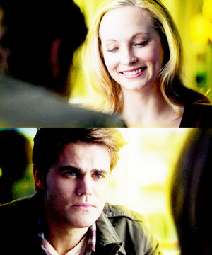 Tom Avery and Caroline