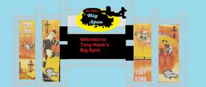 Tony Hawk's Big Spin entrance