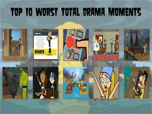 superiore, in alto 10 Total Drama Bluffs