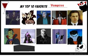 superiore, in alto 10 Vampiri#From Dracula to Buffy... and all creatures of the night in between.