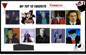 상단, 맨 위로 10 뱀파이어