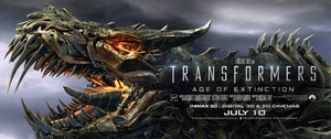 Transformers: Age of Extinction  Grimlock Poster