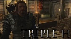Triple H in Skyrim