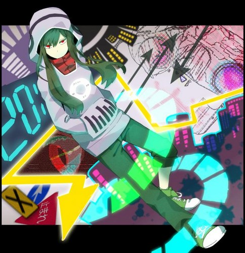 Mekaku City Actors wallpaper probably containing anime entitled Tsubomi Kido