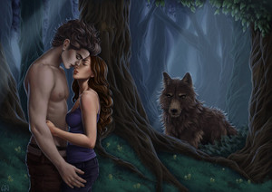 Twilight blue romance