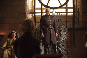 Tyrion and Tywin Lannister
