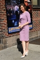 Vera Arriving At Late toon With David Letterman