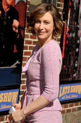 Vera Arriving At Late दिखाना With David Letterman