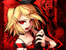 Vocaloid Rin Red