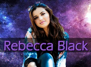 壁紙 Rebecca Black