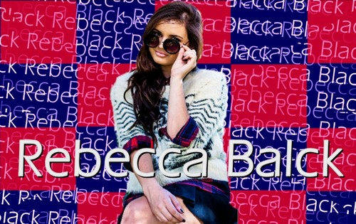Rebecca Black fondo de pantalla with sunglasses entitled fondo de pantalla red and white