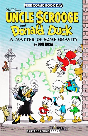 Walt Disney Comics - Scrooge McDuck: A Matter of Some Gravity