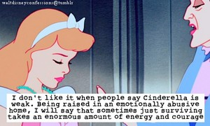 Walt Disney Confession: Cinderella isn't weak