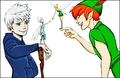 Walt disney fã Art - Jack Frost, Periwinkle, Tinker sino & Peter Pan