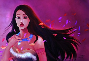 Walt Disney Fan Art - Pocahontas