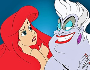 Walt disney fan Art - Princess Ariel & Ursula