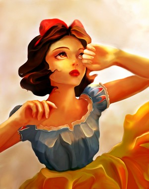 Walt disney fan Art - Princess Snow White