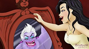 Walt Disney Fan Art - Ursula & Vanessa