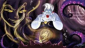 Walt Disney Fan Art - Vanessa, Ursula & Princess Ariel