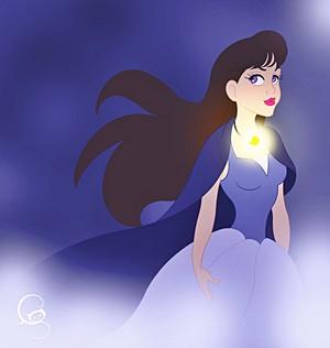 Walt Disney fan Art - Vanessa