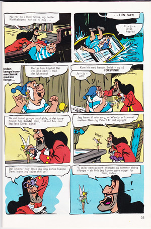 Walt disney Movie Comics - Peter Pan (Danish Version)