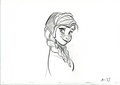 Walt Disney Sketches - Princess Anna