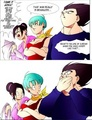 Well, Didn't Mean to Say That.... - dragon-ball-z fan art