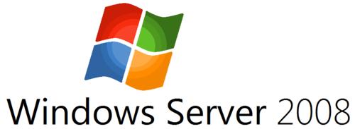 microsoft windows images windows server 2008 logo