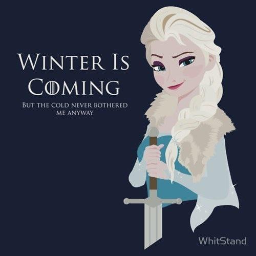 Winter Is Coming - Frozen Fan Art (37077348) - Fanpop