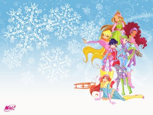Winx in winter outfit