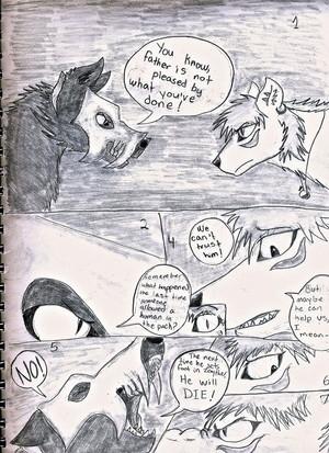 serigala, wolf Comic
