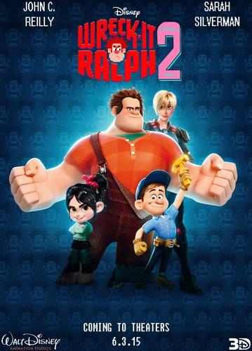 Vanellope karatasi la kupamba ukuta titled Wreck-It Ralph 2 Poster