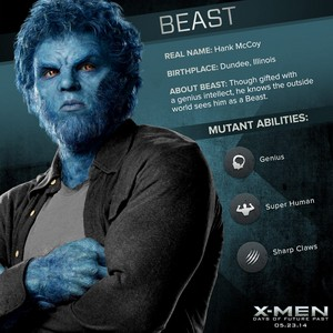 X-Men: Days of Future Past - Hank McCoy/Beast Dossier