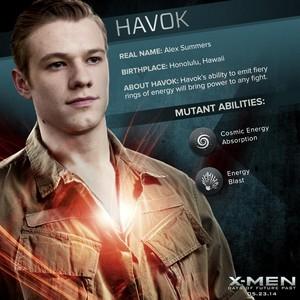 X-Men: Days of Future Past - Havok/Alex Summers Dossier